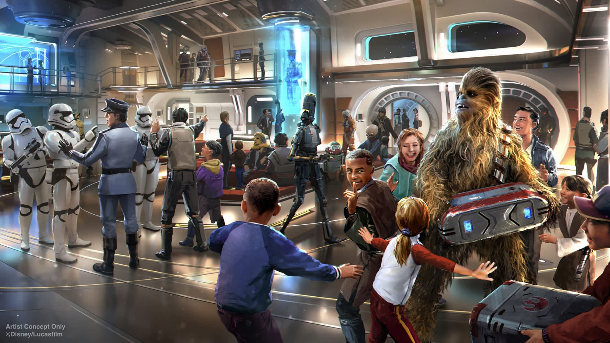 Disney's Galactic Starcruiser launches in March, bookings start in October